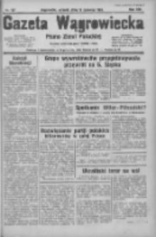 Gazeta Wągrowiecka: pismo ziemi pałuckiej 1934.06.19 R.14 Nr137