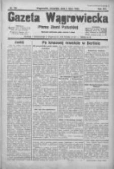 Gazeta Wągrowiecka: pismo ziemi pałuckiej 1934.07.05 R.14 Nr150