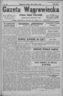 Gazeta Wągrowiecka: pismo ziemi pałuckiej 1934.07.18 R.14 Nr161