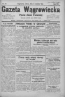 Gazeta Wągrowiecka: pismo ziemi pałuckiej 1934.09.01 R.14 Nr199
