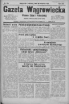 Gazeta Wągrowiecka: pismo ziemi pałuckiej 1934.09.30 R.14 Nr224