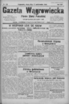 Gazeta Wągrowiecka: pismo ziemi pałuckiej 1934.10.10 R.14 Nr232