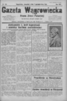 Gazeta Wągrowiecka: pismo ziemi pałuckiej 1934.10.11 R.14 Nr233
