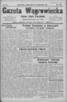 Gazeta Wągrowiecka: pismo ziemi pałuckiej 1934.10.23 R.14 Nr243