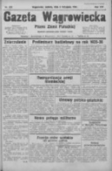 Gazeta Wągrowiecka: pismo ziemi pałuckiej 1934.11.03 R.14 Nr252