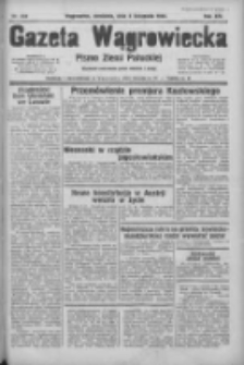 Gazeta Wągrowiecka: pismo ziemi pałuckiej 1934.11.04 R.14 Nr253