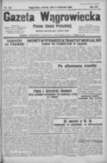 Gazeta Wągrowiecka: pismo ziemi pałuckiej 1934.11.06 R.14 Nr254