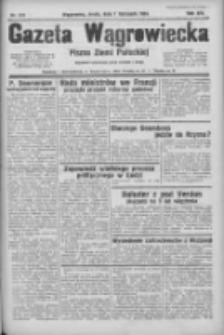Gazeta Wągrowiecka: pismo ziemi pałuckiej 1934.11.07 R.14 Nr255