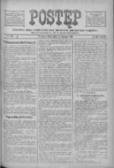 Postęp: narodowe pismo katolicko-ludowe niezależne pod każdym względem 1916.06.24 R.27 Nr142