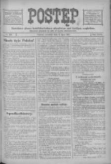 Postęp: narodowe pismo katolicko-ludowe niezależne pod każdym względem 1916.07.27 R.27 Nr169