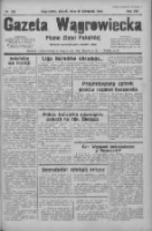 Gazeta Wągrowiecka: pismo ziemi pałuckiej 1934.11.23 R.14 Nr269