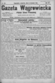 Gazeta Wągrowiecka: pismo ziemi pałuckiej 1934.11.29 R.14 Nr274