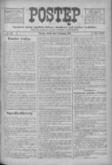 Postęp: narodowe pismo katolicko-ludowe niezależne pod każdym względem 1916.08.02 R.27 Nr174