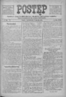 Postęp: narodowe pismo katolicko-ludowe niezależne pod każdym względem 1916.08.06 R.27 Nr178