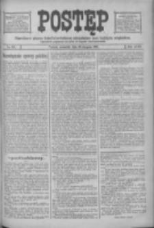 Postęp: narodowe pismo katolicko-ludowe niezależne pod każdym względem 1916.08.10 R.27 Nr181