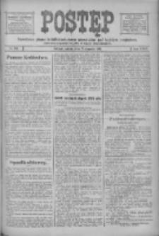 Postęp: narodowe pismo katolicko-ludowe niezależne pod każdym względem 1916.08.12 R.27 Nr183