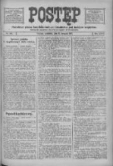 Postęp: narodowe pismo katolicko-ludowe niezależne pod każdym względem 1916.08.13 R.27 Nr184