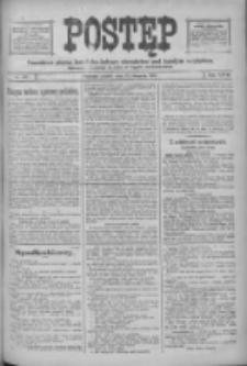 Postęp: narodowe pismo katolicko-ludowe niezależne pod każdym względem 1916.08.18 R.27 Nr187
