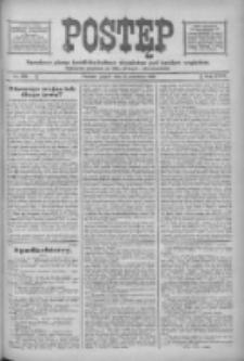 Postęp: narodowe pismo katolicko-ludowe niezależne pod każdym względem 1916.09.08 R.27 Nr205
