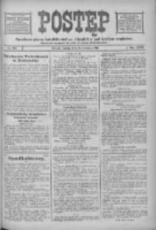 Postęp: narodowe pismo katolicko-ludowe niezależne pod każdym względem 1916.09.09 R.27 Nr206