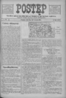 Postęp: narodowe pismo katolicko-ludowe niezależne pod każdym względem 1916.09.20 R.27 Nr215