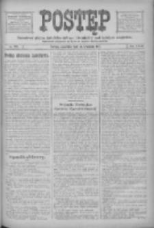 Postęp: narodowe pismo katolicko-ludowe niezależne pod każdym względem 1916.09.28 R.27 Nr222