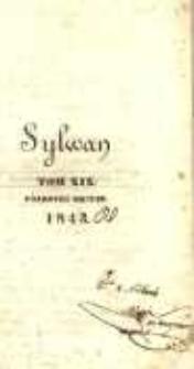 Sylwan 1843 Półrocze 2