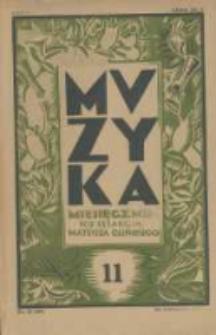 Muzyka. 1928 R.5 nr11