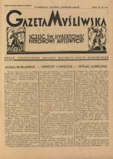 Gazeta Myśliwska 1928 Nr3/4