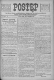 Postęp: narodowe pismo katolicko-ludowe niezależne pod każdym względem 1916.11.03 R.27 Nr252