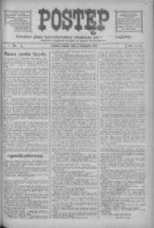 Postęp: narodowe pismo katolicko-ludowe niezależne pod każdym względem 1916.11.04 R.27 Nr253