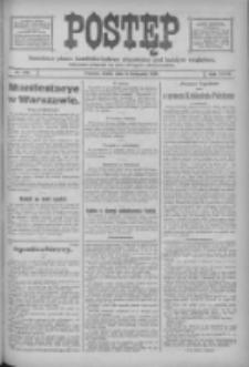 Postęp: narodowe pismo katolicko-ludowe niezależne pod każdym względem 1916.11.08 R.27 Nr256