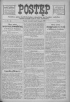 Postęp: narodowe pismo katolicko-ludowe niezależne pod każdym względem 1916.11.09 R.27 Nr257