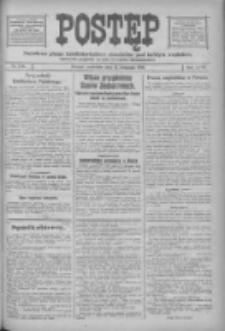 Postęp: narodowe pismo katolicko-ludowe niezależne pod każdym względem 1916.11.12 R.27 Nr260