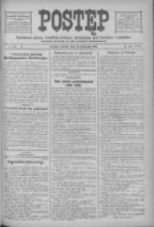 Postęp: narodowe pismo katolicko-ludowe niezależne pod każdym względem 1916.11.14 R.27 Nr261