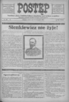 Postęp: narodowe pismo katolicko-ludowe niezależne pod każdym względem 1916.11.18 R.27 Nr265