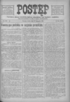 Postęp: narodowe pismo katolicko-ludowe niezależne pod każdym względem 1916.11.22 R.27 Nr268