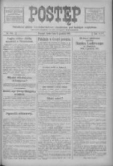 Postęp: narodowe pismo katolicko-ludowe niezależne pod każdym względem 1916.12.06 R.27 Nr279