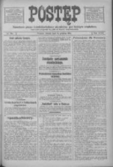 Postęp: narodowe pismo katolicko-ludowe niezależne pod każdym względem 1916.12.12 R.27 Nr283