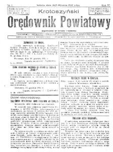 Krotoszyński Orędownik Powiatowy 1932.01.02 R.57 Nr1