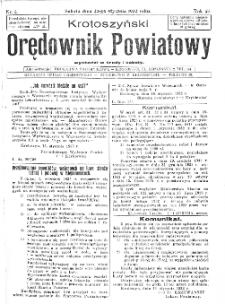Krotoszyński Orędownik Powiatowy 1932.01.23 R.57 Nr6