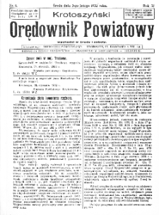 Krotoszyński Orędownik Powiatowy 1932.02.03 R.57 Nr9