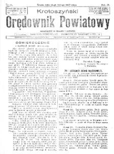 Krotoszyński Orędownik Powiatowy 1932.02.10 R.57 Nr11