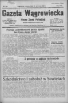 Gazeta Wągrowiecka: pismo ziemi pałuckiej 1937.09.25 R.17 Nr221
