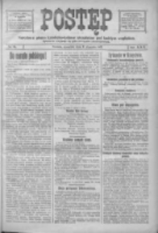 Postęp: narodowe pismo katolicko-ludowe niezależne pod każdym względem 1919.01.09 R.30 Nr6