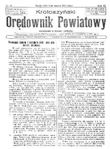 Krotoszyński Orędownik Powiatowy 1932.03.09 R.57 Nr19