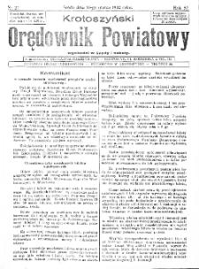 Krotoszyński Orędownik Powiatowy 1932.03.16 R.57 Nr21
