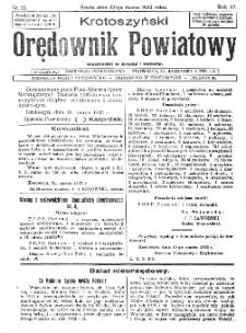 Krotoszyński Orędownik Powiatowy 1932.03.23 R.57 Nr23