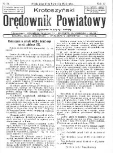 Krotoszyński Orędownik Powiatowy 1932.04.13 R.57 Nr28