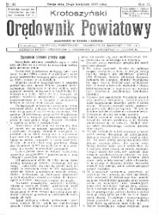 Krotoszyński Orędownik Powiatowy 1932.04.20 R.57 Nr30